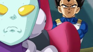 Jaco and Vegeta from Dragon Ball Super, Episode 44