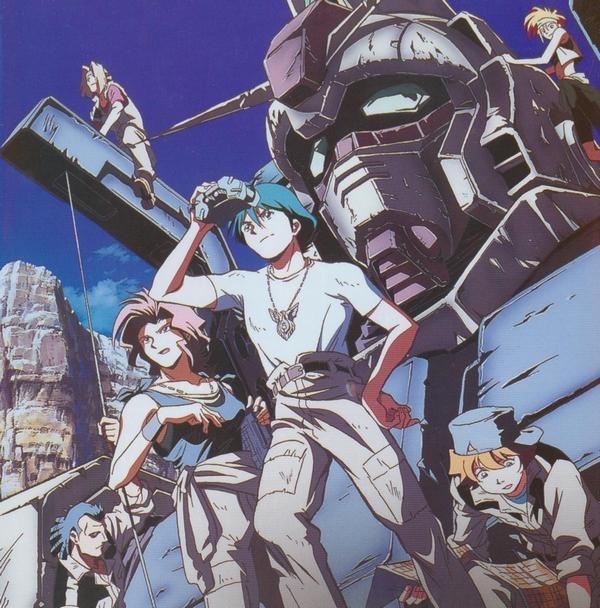 Cast from Gundam: The 08th MS Team