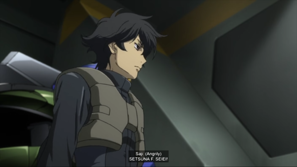 Setsuna F. Seiei from Mobile Suit Gundam 00